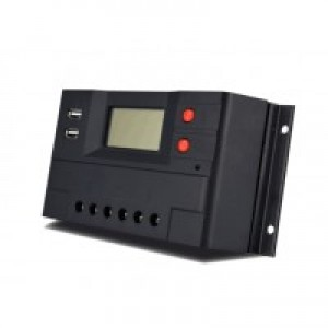 Solcelleregulator 20 Amp Digital m/USB